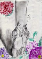 Ballet shoes by xSpeechless