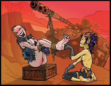 C.A.B.ified Classics ~ Tank Girl and Noodle by CeeAyBee