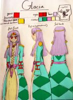 Glacia Human Reference Sheet 2013 by TheDragonInTheCenter