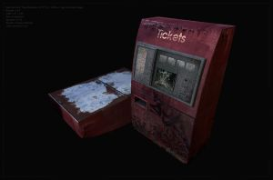 [Game Model] Ticket Machine by Cluly