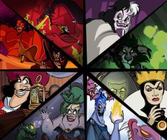 Disney Villains by TheSpyWhoLuvedMe