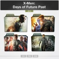 X-Men: Days of Future Past (Folder Icon) by limav