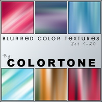 Blurred Color Textures Set One by magdalena-stock