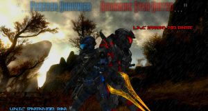 Gift: The Lone Survivor and The L.A.C Mercenary... by UhzeNostrom117