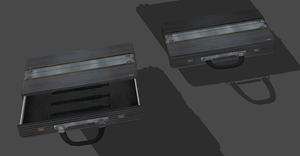RESIDENT EVIL 6 CARLA'S SIRINGES BRIEFCASE by OoFiLoO