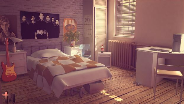 Daytime_Bedroom-summer by tawryk