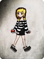 Pokemon Trainer Marie -colored- by KHMarie12