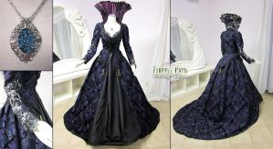 Regina Mills Once Upon a Time Purple Gown by Lillyxandra