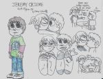 Scott Pilgrim OC: Jeremy Okieme by CelmationPrince