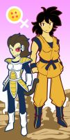 Lady Saiyans by FreakingArG
