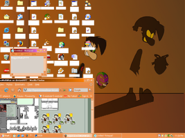 JoLP Desktop Screenie by HyperactiveMothMan