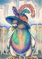 ACEO: Strut Your Stuff by DanielleMWilliams