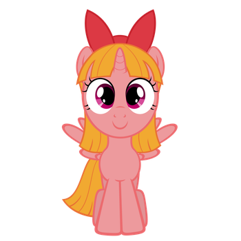 Power Puff Fillies: Blossom by OTfor2