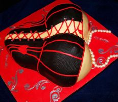 Corset Cake Side View by DarkMindsEye
