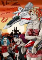 MACROSS 2 THE STEEL BREEZE by dagova