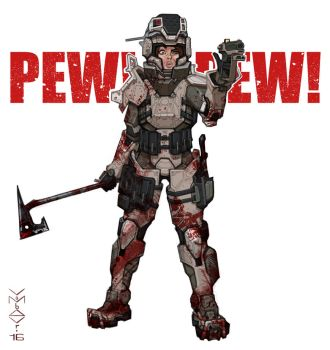 Pewpewpew by vombavr