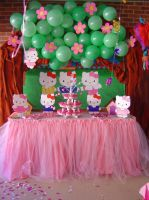 Hello Kitty Party Decoration by Verusca