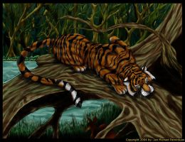 """Homage To Tigris Panthera"" by jan-michael9500"