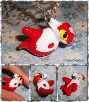Pokemon - Latias PokeDoll Plushie Charm Necklace by YellerCrakka
