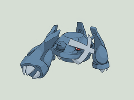 Metagross by Psidra