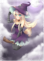 Purple Witch by cytes