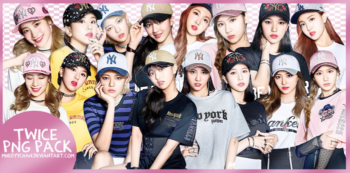 [render #97] TWICE PNG Pack by MhedyyChan