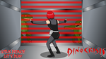 Lotus Prince let's play: Dino Crisis title card by Roler42