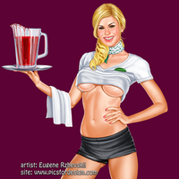 waitress by rzhevskii