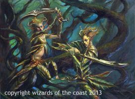 Wildslayer Elves by Dave-Kendall