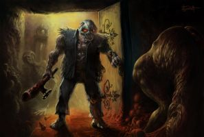 Splatterhouse by ResidenteCorva