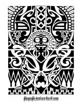 Lower arm tribal 1 by shepush