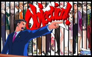 Phoenix Wright background by BritTheMighty