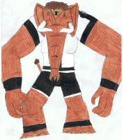 Ben 10-Ben Mammoth by siborg626