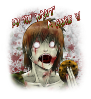 DO YOU WANT A COOKIE ?! Zombie by x-Tsuka-x