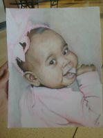 A Baby portrait for someone by bigzade