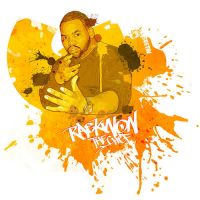 Raekwon from the Wu Tang Clan by GustavBAD