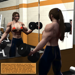 Feminox Gym Session by Lingster