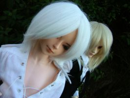 Lysander and Riv again by OCD-4-BJD