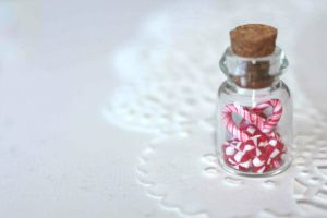 Christmas Candy in a Jar by sabisabi1