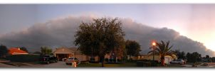 Panorama Cold Front Cloud by mycarisfaster