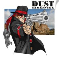 Dust by scruffyronin colored by Dangerman-1973