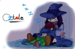Oztale: ScareCrow!Sans Is Great Sleeping Buddy by perfectshadow06