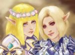 Lineage II, Elves by shersann