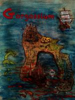 Map of Gorgossium by eitherangel