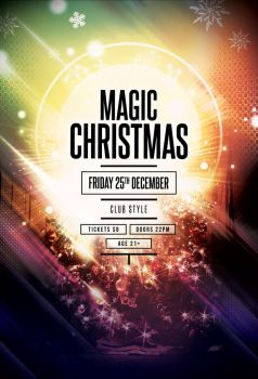 Magic Christmas Flyer by styleWish