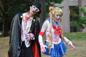 AWA16 - Zombie Sailor Moon by WashuuOtaku