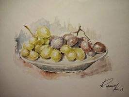 Grapes by Kriscorpion