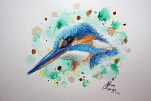 Kingfisher by Lageveen