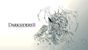 Darksiders 2 - Reaper Form Wallpaper by Hynotama