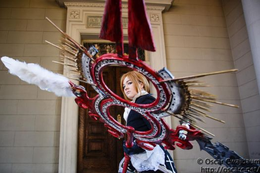 Eric Lecarde: Respect the Spear by bekalou-cosplay